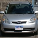 マツダ デミオ 2005 中古車 キーレス CD エアバッグ 車検整備付 寒冷地仕様 - 小樽市