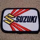 SUZUKI ワッペン デッドストック品【ヴィンテージ】USA製