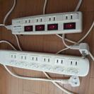 電源テーブルタップ4点セット