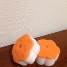 【お取引中】お花型のメラミンスポンジ2個