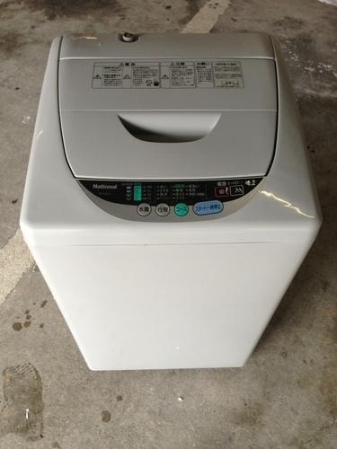 4.2kg ナショナル 洗濯機 (リラク) 北九州の生活家電《洗濯機》の ...