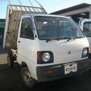 ミニキャブトラック660 簡易ダンプ 三方開 4WD