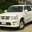 トヨタ ハイラックスサーフ 2.7 エアロフォースワイド 4WD...