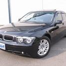 BMW 7シリーズ 735i サンルーフ・黒革(ブラックメタ...