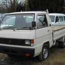 三菱 デリカトラック 3方 旧車 (ホワイト) ピックアップ...