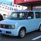 日産 キューブ 1.4 SX 4WD (ブルー) ハッチバック