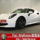 アルファ ロメオ 4C 1.7 正規D車デモアップ禁煙レザーブ...