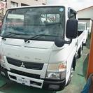 三菱 キャンター 全低床2トン標準平ボディー (ホワイト) トラック