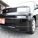 トヨタ bB 1.3 S Wバージョン 車検整備付 黒 HDD...