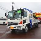 日野自動車 レンジャー 7.8t 増トン 標準ベッド付 5段クレ...