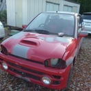 スバル ヴィヴィオ 660 RX-R 4WD (レッド…