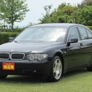BMW 7シリーズ 745i カーテシランプ・純正アルミ・革シー...