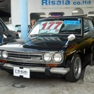 日産 ブルーバード 510 クーペテール (ブラック) セダン