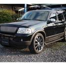フォード エクスプローラー XLT 4WD 22インチ モニタ...