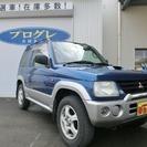 三菱 パジェロミニ 660 V 4WD ターボ ABS(ブルー...