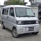三菱 ミニキャブバン 660 CD 4WD (シルバー…