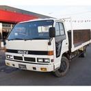いすゞ エルフ セーフティーローダー ウインチ(ホワイト) トラック