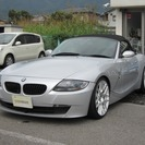 BMW Z4 ロードスター2.5i 黒本革シート(シルバー) ...