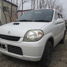 スズキ Kei 660 Eタイプ 4WD (ホワイト) ハッ...