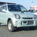 スズキ Kei 4WD-S フル装備 キーレス(ライトグリー...