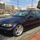 BMW 3シリーズツーリング 318i ナビ ETC付(ダー...