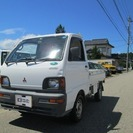 三菱 ミニキャブトラック 660 TD 三方開 4WD (ホワイト) トラック 軽自動車の画像