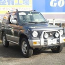 三菱 パジェロミニ 660 XR-II 4WD (グレーツート...