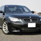 BMW M5 5.0 左H 後期 本革 SR HDDナビ バッ...