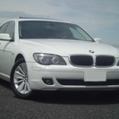 BMW 7シリーズ 750i 左H 本革 SR HDDナビ(...