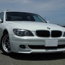 BMW 7シリーズ 740i (ホワイト) セダン