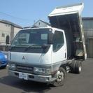 三菱 キャンター 高床ダンプ 5200CC 原動機4M51(ホ...