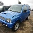 スズキ ジムニー 660 XC 4WD (ブルー) クロカン...