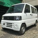 三菱 ミニキャブバン 660 CD ハイルーフ 4WD 4WD...