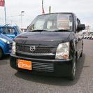 マツダ AZ-ワゴン 660 FA (ブルーイッシュブラック...