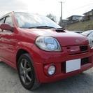 スズキ Kei 660 ワークス 4WD (レッド) ハッチ...