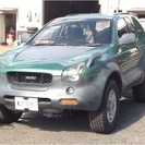いすゞ ビークロス 3.2 4WD (グリーングレーII) ク...