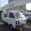 三菱 ミニキャブトラック 660 TD 三方開 4WD 4速マ...
