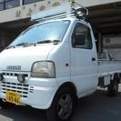 スズキ キャリイ 660 KC 3方開 4WD /AC/PS...