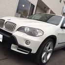 BMW X5 4.8i 4WD (ホワイト) クロカン・SUV