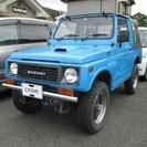 スズキ ジムニー 660 フルメタルドア CC 4WD (ブル...