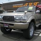 トヨタ ランドクルーザー80 VX-LTDディーゼルターボ リフ...