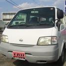日産 バネット 1.8 DX 4WD (ホワイト) ミニバン