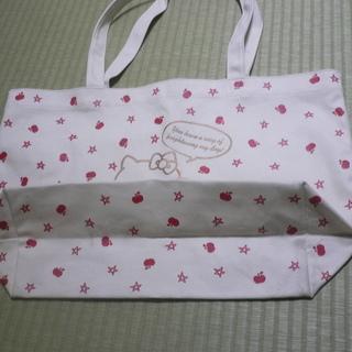 キティ A4サイズも入る帆布バッグ 折り畳めます − 大阪府