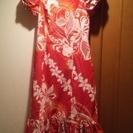 フラのドレスです。