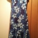 フラのドレス。