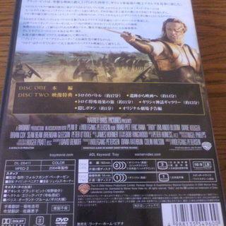 BRAD PITTさん主演DVD「TROY」 − 北海道