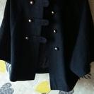 ポンチョの形のコートです