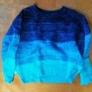 柄がかわいいセーターです