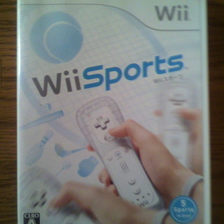 Wiiソフト「Wii Sports」