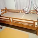 二段ベッドの一段目のみ